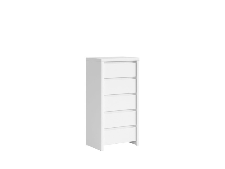 Chest Of Drawers 'KASPIAN-KOM5S' white
