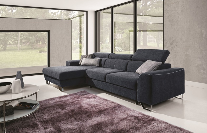 Corner Sofa Bed 'Melbourne OSB+3FB