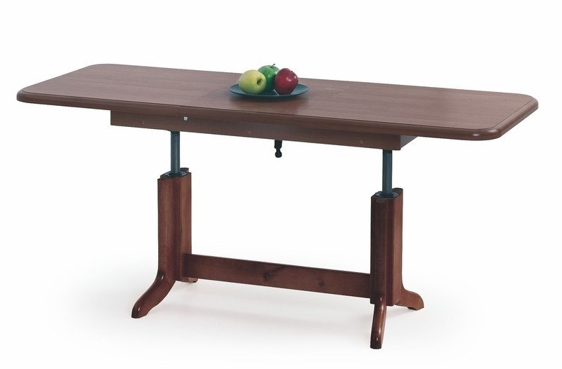 Extension Coffee Table 'KAROL' chestnut